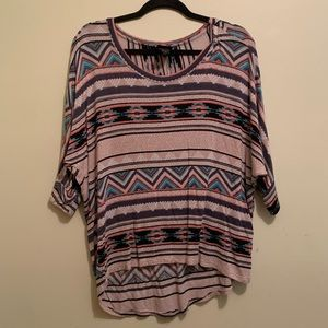 ⭐️10/$25 Rue21 Tribal Top | Medium